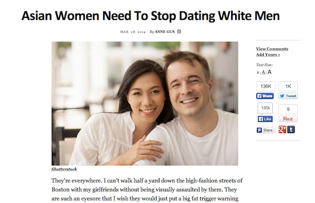 dating articles thought catalog He also said that he had pitched the article to a thought catalog producer before   asian women need to stop dating white men (29 march 2014) by anne.