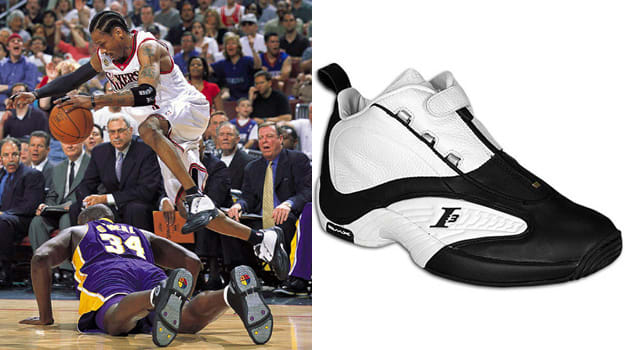 Allen Iverson in the Reebok Answer IV