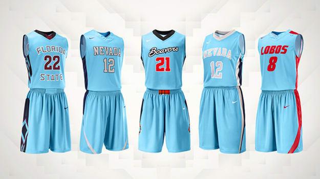 Nike N7 Basketball Uniforms