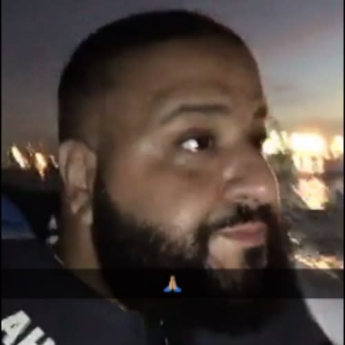 DJ Khaled lost at sea