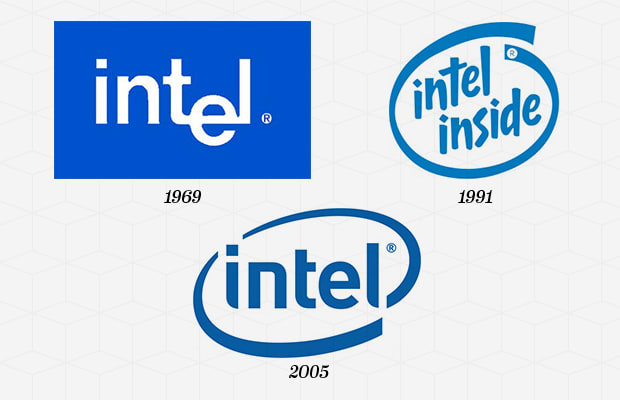 intel corporation 1968 2003 英特爾公司( 英语: intel corporation  在1968年創立intel  推出「給電腦一顆奔馳的芯」宣傳語,2003年intel微調「intel.