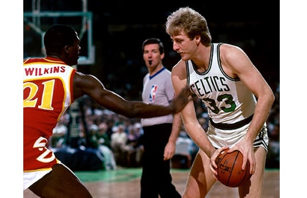 Larry Bird - The 25 Most Clutch Performers in NBA Playoff History | Complex