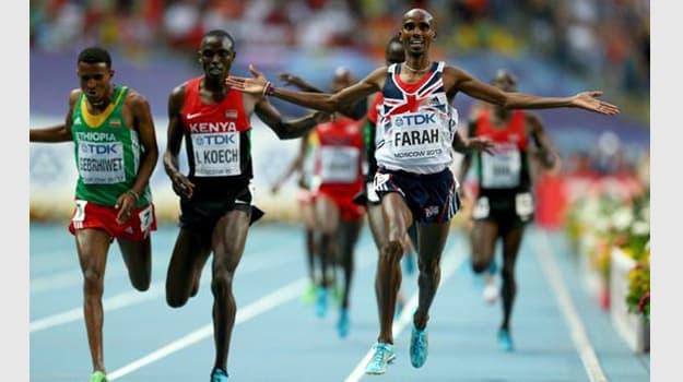 Mo Farah Gold 1