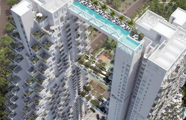 Bishan Residential Complex The Scariest Hotel Swimming Pools In The World Complex