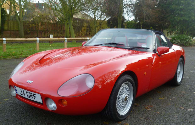 tvr griffith the quickest production cars in each of the past 25 years complex. Black Bedroom Furniture Sets. Home Design Ideas
