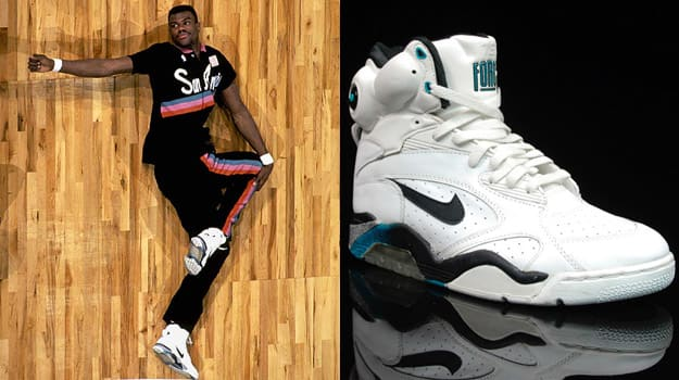 David Robinson in the Nike Air Command Force
