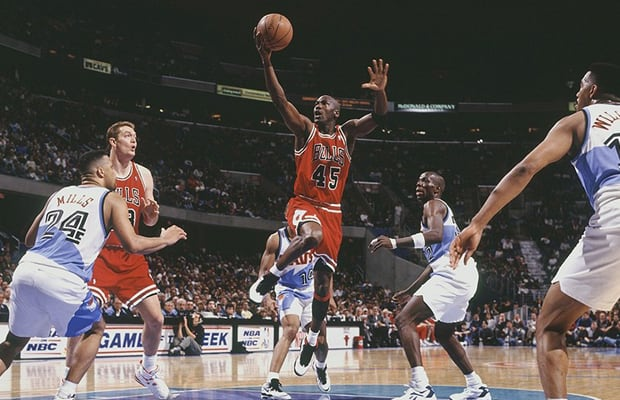 Michael Jordan - The 25 Greatest NBA Players of the '90s ...
