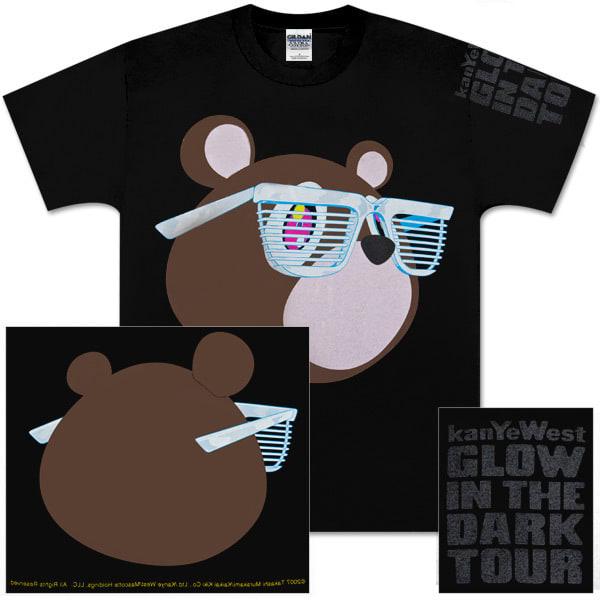 Kanye Glow In The Dark Tour Merch