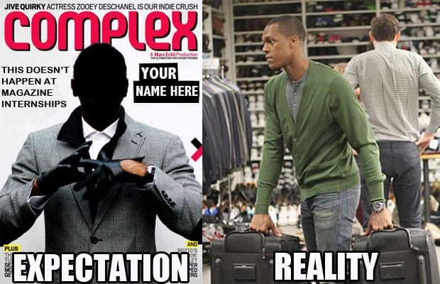 Complex Magazine Fashion Internship
