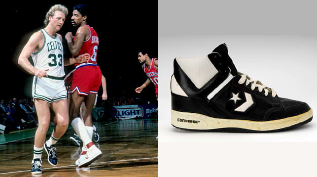 Larry Bird in the Converse Weapon