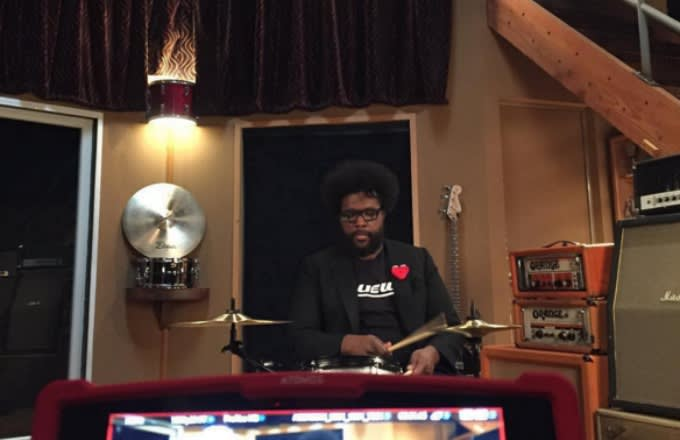 questlove-instagram-selfie-playing-drums