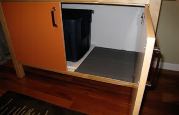 hide your litterbox in furniture 25 life hacks for small