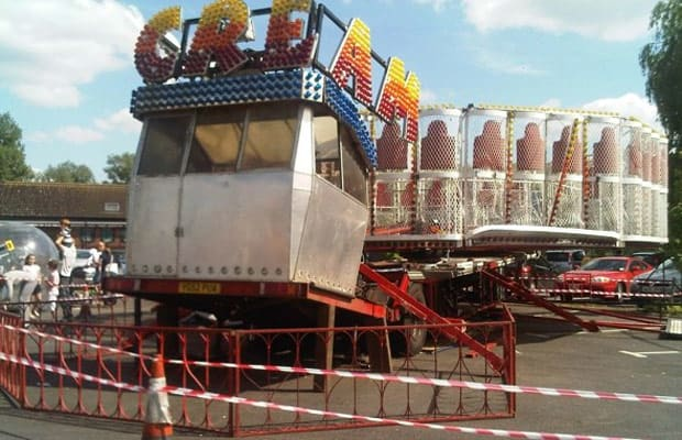 Scream 16 Carnival Rides That Look Like They Could Kill