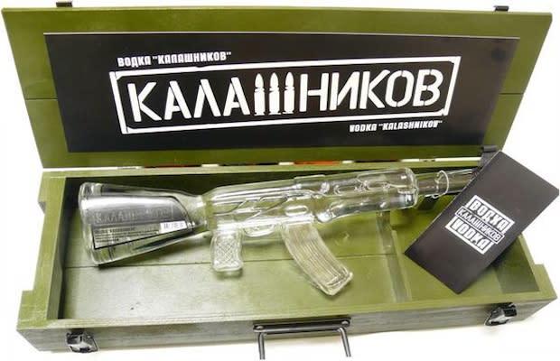 Kalashnikov Vodka - 25 Cool Liquor Bottles Worth Buying For the Bottle ...