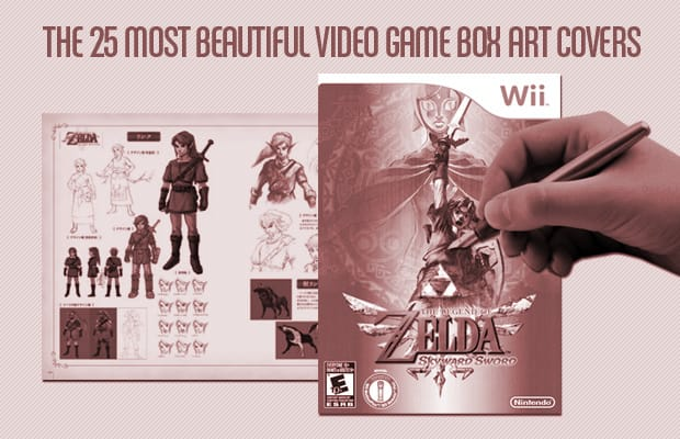 Most Beautiful Book Covers Ever : The most beautiful video game box art covers complex