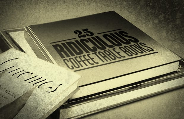 The Coffee Table Book Of Books 25