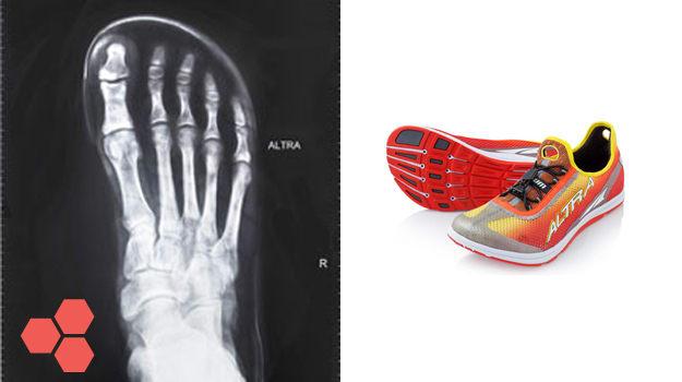 Altra Foot Shaped Toe Box