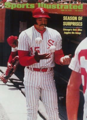 Dick Allen Gallery Athletes Smoking Cigarettes And