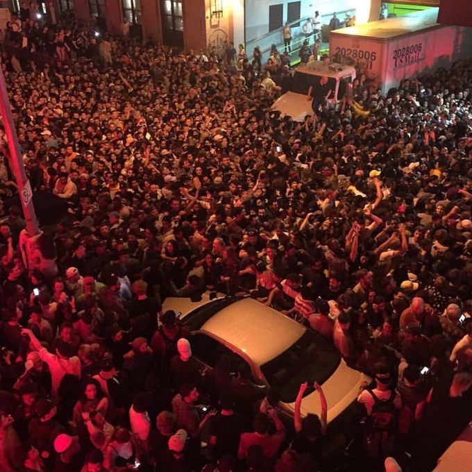 Non Concert of the Life: Inside Kanye West's Doomed Webster Hall Experiment news