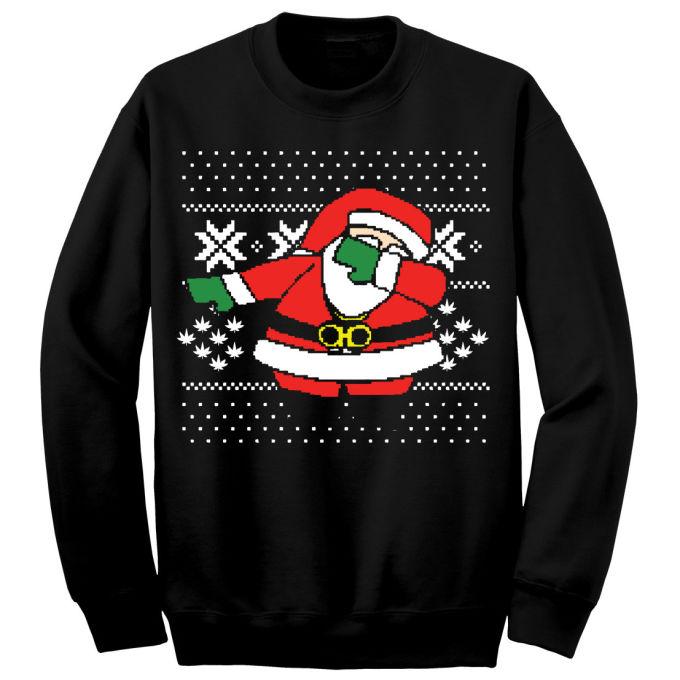 You Can Now Buy A 2 Chainz Dabbing Santa Ugly Christmas