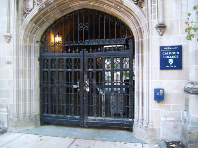 Former African-American Yale Worker Smashes Slave Window