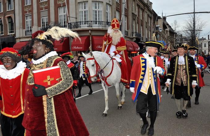 Sinterklaas And Zwarte Piet Netherlands The Most