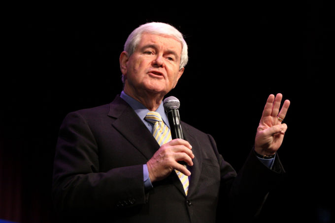 Gingrich on being VP: 'Do you want a two-pirate ticket?'