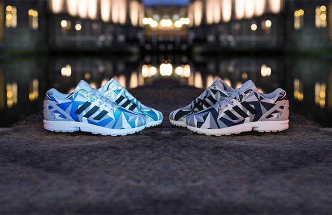 Get Your Hands On The adidas ZX Flux Fingerprint Pack