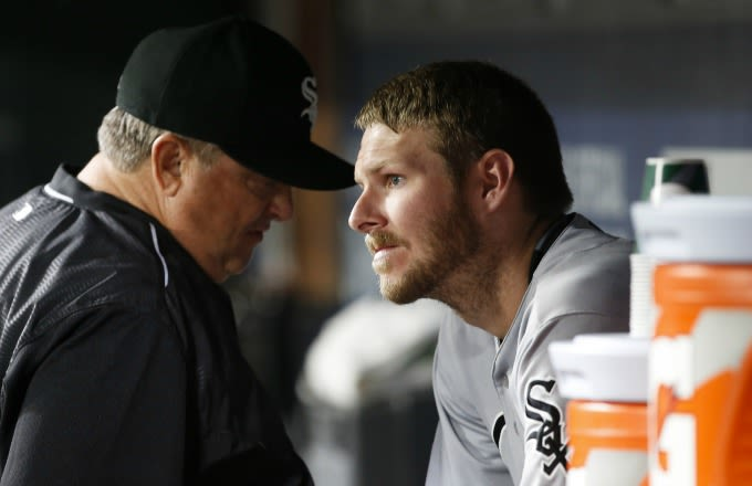 White Sox suspend Chris Sale for destroying team equipment