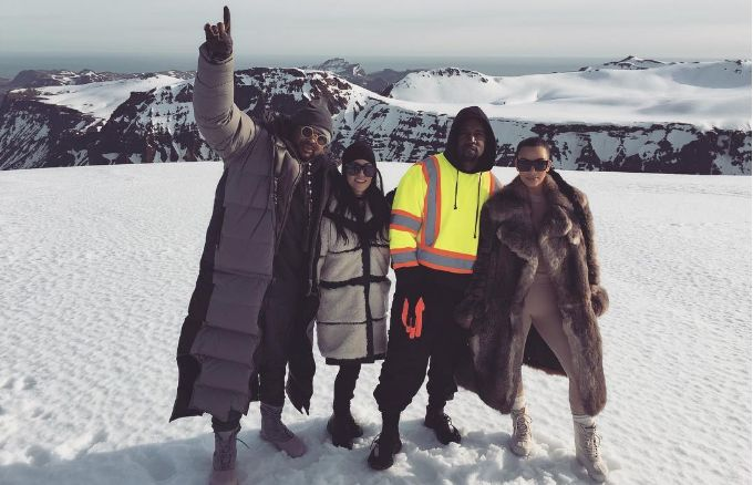 "Kim Kardashian Says a Video Was Shot for Kanye West's ""Highlights"" During Their Iceland Trip news"