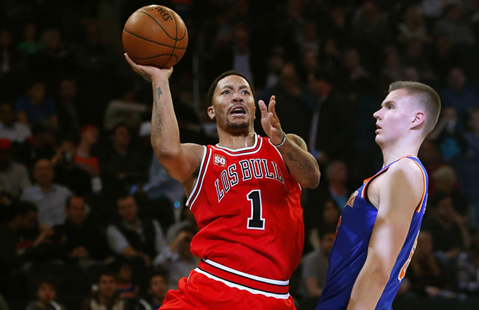 New York Knicks Interested in Trading for Chicago Bulls' Derrick Rose
