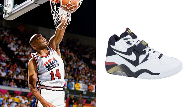 Charles Barkley in the Nike Air Force 180