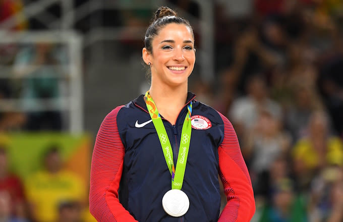 Gymnast Aly Raisman accepts date from 'very cute' Raiders player