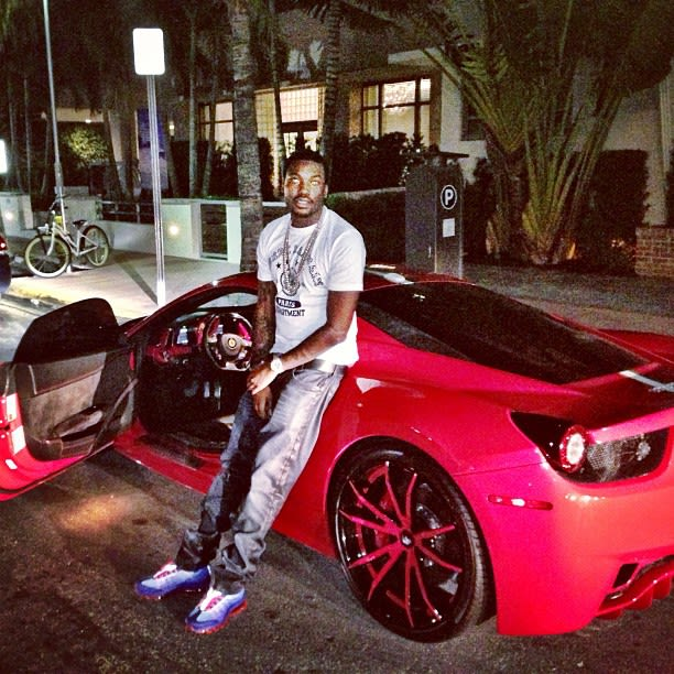 Ferrari Meek Mill S 30 Best Rides Photos On Instagram