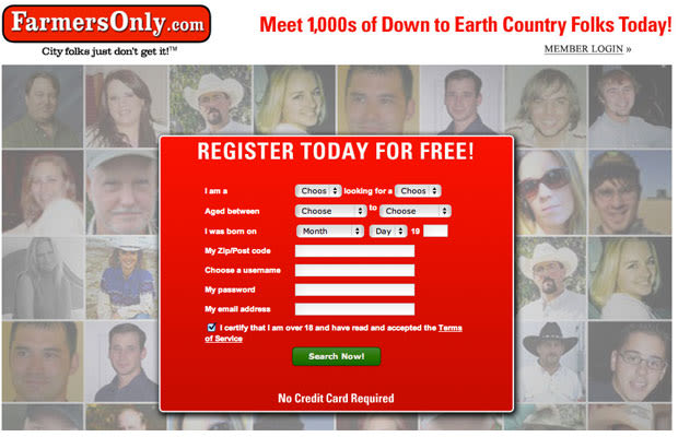 Free dating sites to meet farmers