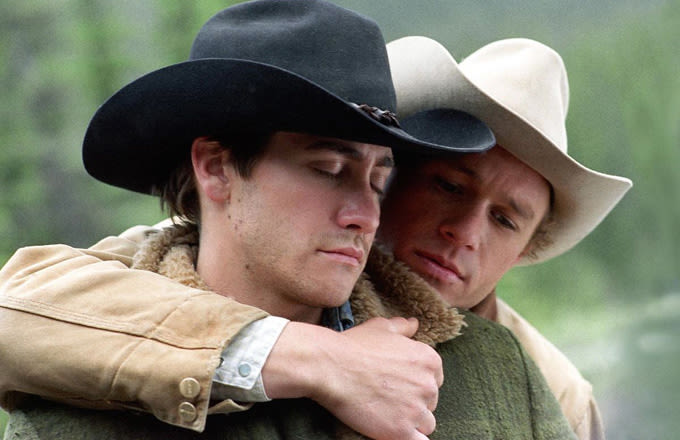 the restrictions to experience maximum happiness in the film brokeback mountain Jake gyllenhaal, left, and heath ledger, in ang lee's film brokeback mountain photograph: kimberly french/ap thrown together, lonely and frustrated, ennis and jack find that their relationship has grown deeper and fiercer than friendship and they have sex it is a glorious, revelatory experience, and.