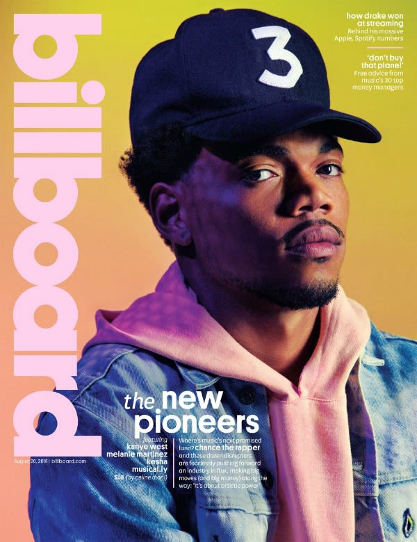 Chance the Rapper's 'Coloring Book' Makes a Historic Debut on the Billboard 200 news