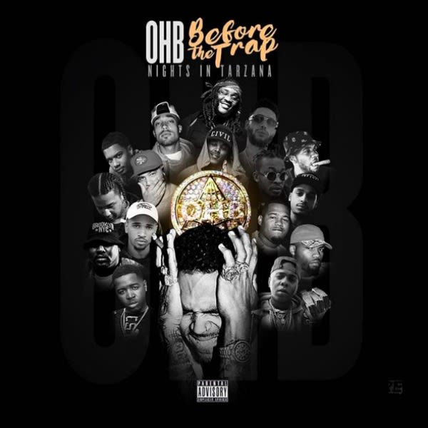 Listen to Chris Browns Collaborative OHB Mixtape Before The Trap: Nights In Tarzana news
