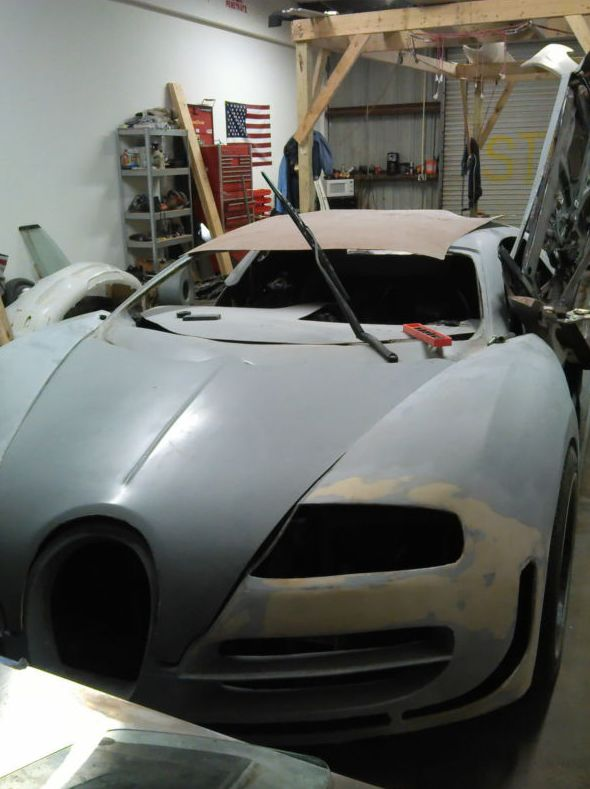2008 bugatti veyron replica the 25 worst cars for sale on ebay right now complex. Black Bedroom Furniture Sets. Home Design Ideas