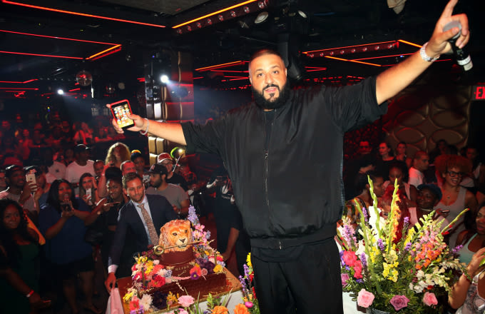 DJ Khaled Shares 'Major Key' Cover, Reveals Plans to Snapchat Son's Birth on 'Kimmel' news