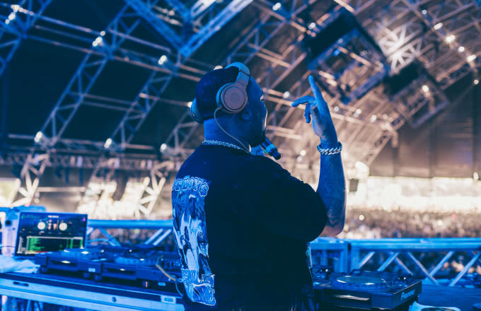 A Day With DJ Mustard on His First Trip to Coachella news