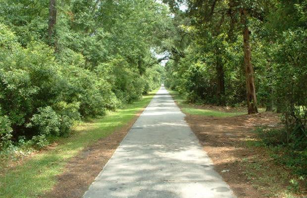 Huntington Beach State Park Bike Trail Map