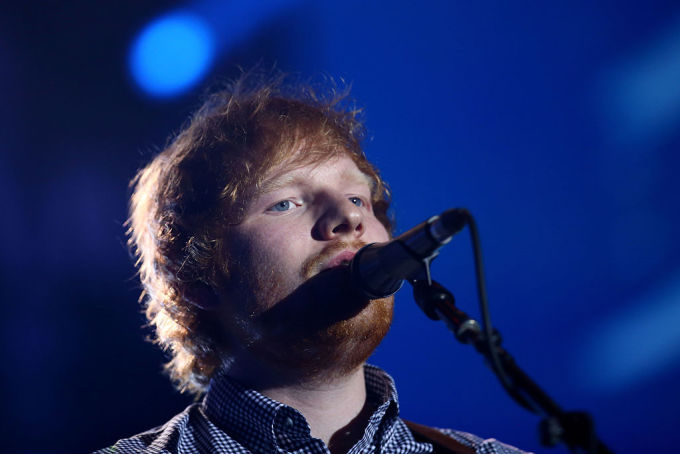 Behind the scenes with song of the year winner, Ed Sheeran | Video: Courtesy of ... instagram