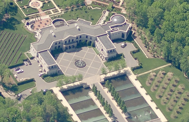 Villa collina the 25 largest homes in the united states for Largest houses in the us