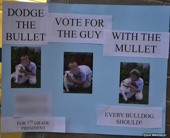 Vote for the Mullet - 25 Hilarious Student Council ...