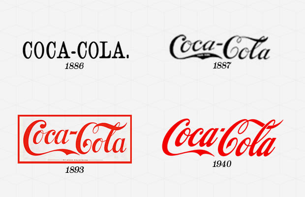 The History of the CocaCola Logo  Our History  CocaCola GB