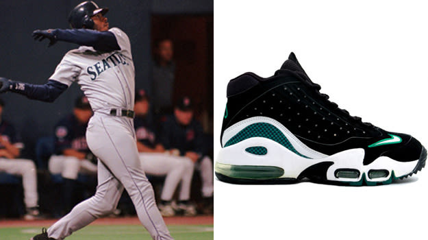 Ken Griffey Jr in the Nike Griffey 2