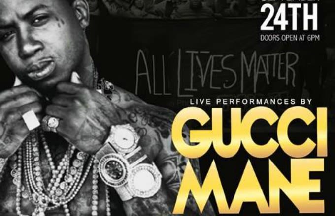 Gucci Mane Set to Headline 'All Lives Matter' Concert in Mississippi news