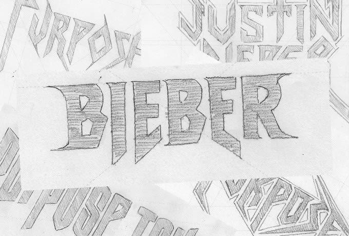 The Making of Justin Bieber's 'Purpose Tour' Logos news