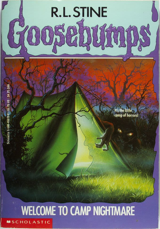Goosebumps Book Cover Art : Welcome to camp nightmare ranking every quot goosebumps